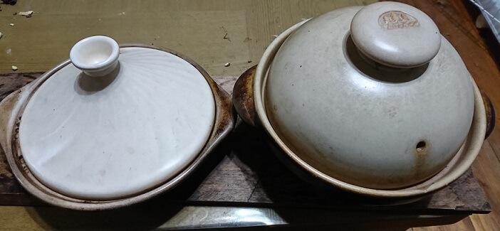 土鍋とタジン鍋