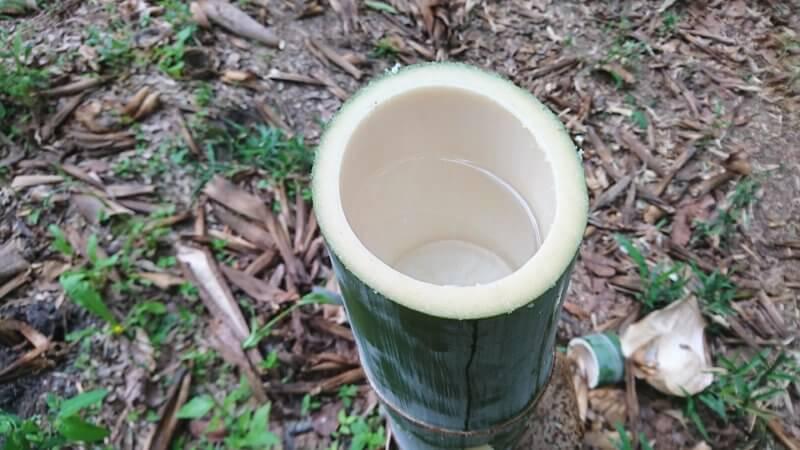 若竹の竹水